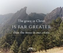 The grace in Christ is greater