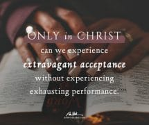 Only in Christ