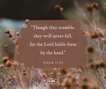 Though they stumble