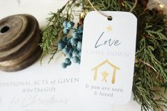 Acts of Givenness – Gift Tags